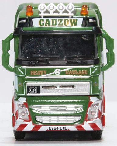 Oxford Diecast Volvo FH4 (g) Nooteboom Semi Low Loader Cadzow