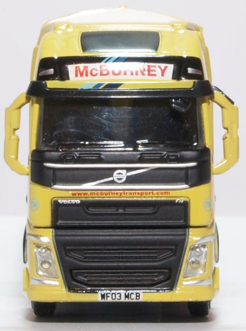 Oxford Diecast Volvo FH4  GXL Walking Floor McBurney Transport