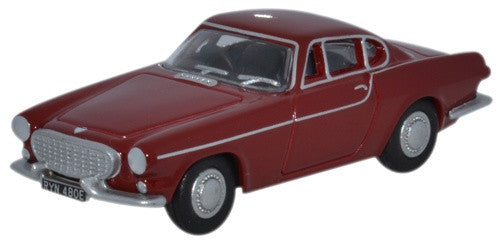 Oxford Diecast Volvo P1800 Red - 1:76 Scale