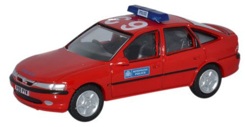 Oxford Diecast Vauxhall Vectra Metropolitan Police - 1:76 Scale