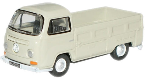 Oxford Diecast Light Grey VW Pick Up - 1:76 Scale