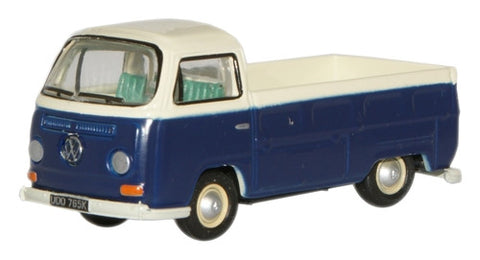 Oxford Diecast Emer Green/ White VW Pick Up - 1:76 Scale