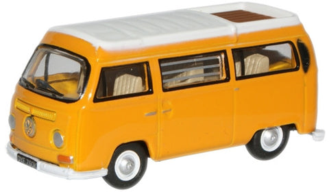 Oxford Diecast Yellow/White VW Camper Closed - 1:76 Scale