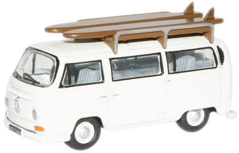 Oxford Diecast Pastel White VW Bus - 1:76 Scale
