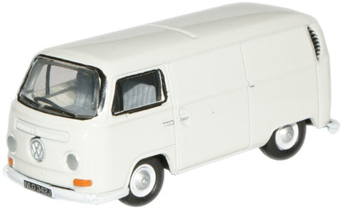 Oxford Diecast VW Van Pastel White - 1:76 Scale
