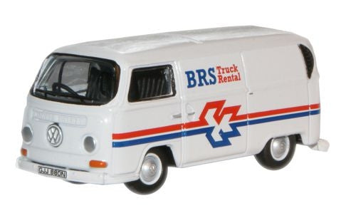 Oxford Diecast BRS Rental VW Bay Window Van - 1:76 Scale
