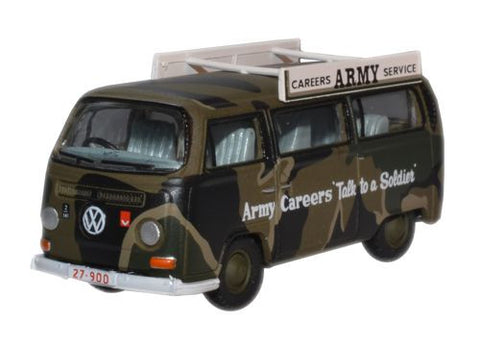 Oxford Diecast Army Careers AUS VW Bay Window Bus - 1:76 Scale