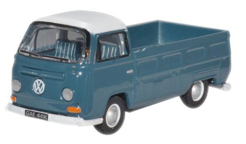 Oxford Diecast Neptune Blue_White VW Bay Window - 1:76 Scale