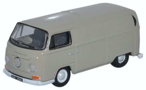 Oxford Diecast VW Bay Window Van Light Grey