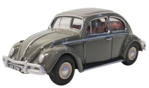 Oxford Diecast Anthracite VW Beetle - 1:76 Scale