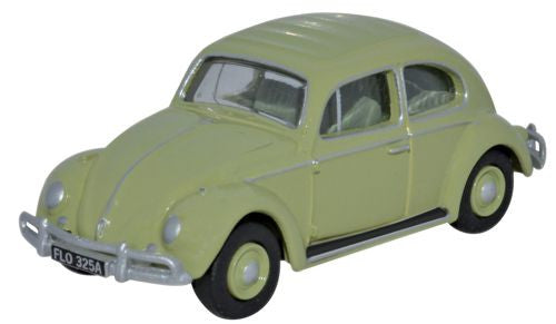 Oxford Diecast Volkswagen Beetle Beryl Green - 1:76 Scale