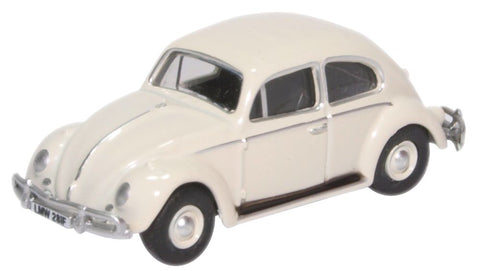 Oxford Diecast VW Beetle Lotus White