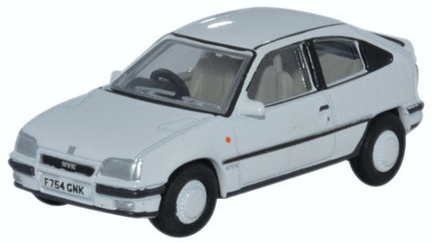 Oxford Diecast Vauxhall Astra MkII White - 1:76 Scale
