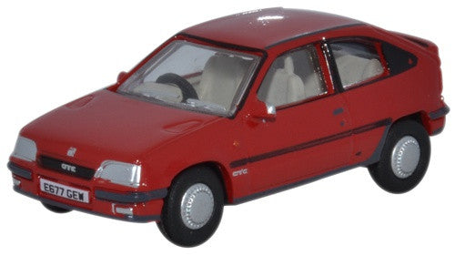 Oxford Diecast Vauxhall Astra MkII Red - 1:76 Scale
