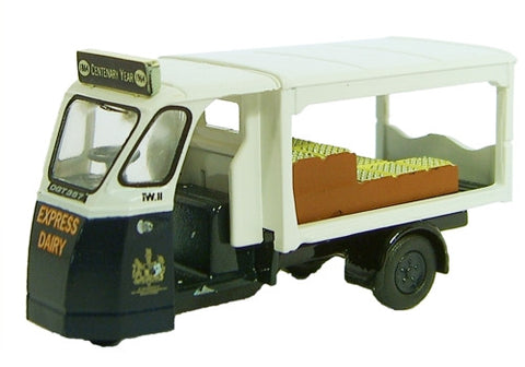Oxford Diecast Milk Float - Express Dairies - 1:76 Scale