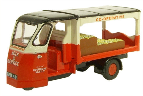 Oxford Diecast Milk Float Co-op - 1:76 Scale