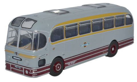Oxford Diecast Weymann Fanfare Grey Cars AEC - 1:76 Scale