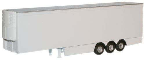 Oxford Diecast White Fridge Trailer - 1:76 Scale