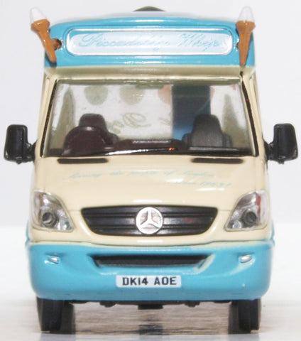 Oxford Diecast Whitby Mondial Ice Cream Van Piccadilly Whip