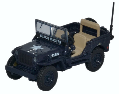 Oxford Diecast Willys MB Royal Navy