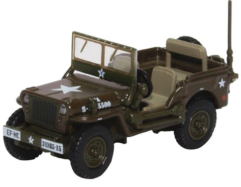 Oxford Diecast Willys MB US Army