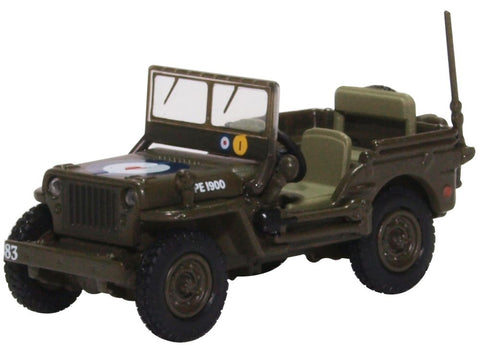 Oxford Diecast Willys MB RAF 83 Grp., 2nd Tactical AF 1944/5