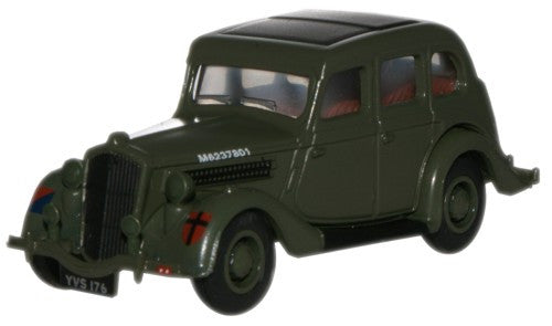 Oxford Diecast British Army Wolseley 18_85 - 1:76 Scale