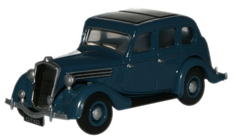 Oxford Diecast Luxan Blue Wolseley 18_85 Series III - 1:76 Scale