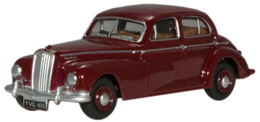 Oxford Diecast Maroon Wolseley 6/80 - 1:76 Scale