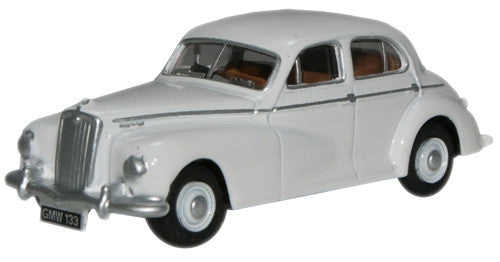 Oxford Diecast White Wolseley 6/80 - 1:76 Scale