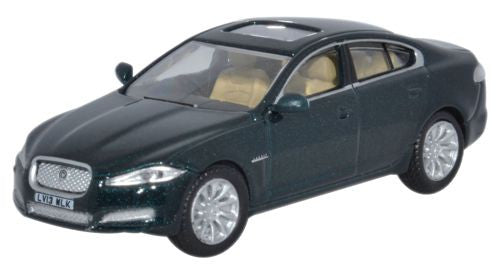 Oxford Diecast Jaguar XF British Racing Green - 1:76 Scale