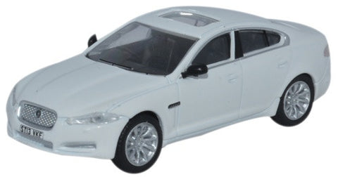 Oxford Diecast Jaguar XF Saloon Polaris White