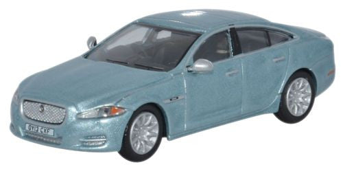 Oxford Diecast Jaguar XJ Crystal Blue - 1:76 Scale