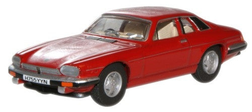 Oxford Diecast Signal Red Jaguar XJS - 1:76 Scale