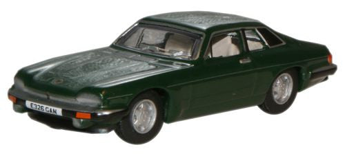 Oxford Diecast Moreland Green Metallic Jaguar XJS - 1:76 Scale