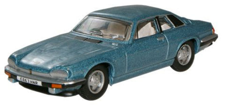 Oxford Diecast Arctic Blue Jaguar XJS - 1:76 Scale