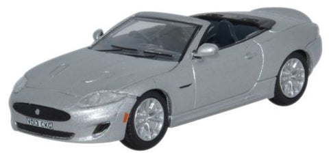 Oxford Diecast Jaguar XK Rhodium Silver - 1:76 Scale