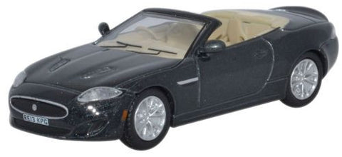 Oxford Diecast Jaguar XK Convertible Ultimate Black - 1:76 Scale