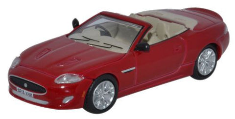 Oxford Diecast Jaguar XK Convertible Italian Racing Red - 1:76 Scale