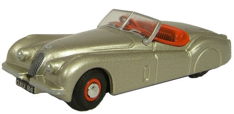 Oxford Diecast XKJ120 Jaguar Bronze - 1:76 Scale