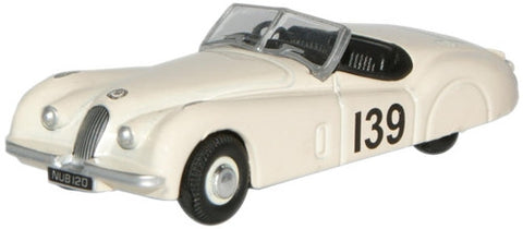 Oxford Diecast Ian Appleyard Jaguar XK120 - 1:76 Scale