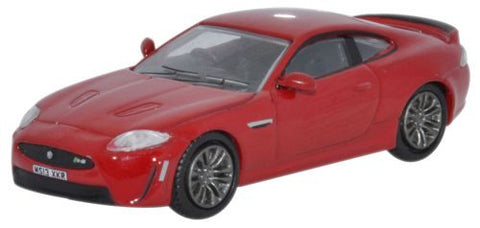 Oxford Diecast Jaguar XKRS Italian Racing Red - 1:76 Scale