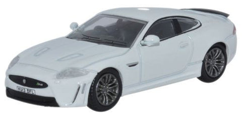 Oxford Diecast Jaguar XKR-S 2 Door Coupe Polaris White - 1:76 Scale