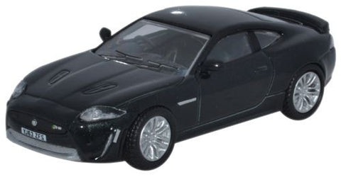 Oxford Diecast Jaguar XKR-S Coupe Ultimate Black - 1:76 Scale