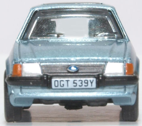 Oxford Diecast Ford Escort XR3i Caspian Blue