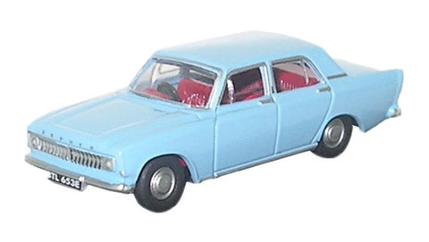 Oxford Diecast Ford Zephyr Pale Blue - 1:76 Scale