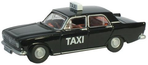 Oxford Diecast Ford Zephyr Black Taxi - 1:76 Scale