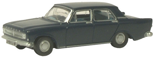 Oxford Diecast Ambassador Blue Ford Zephyr - 1:76 Scale