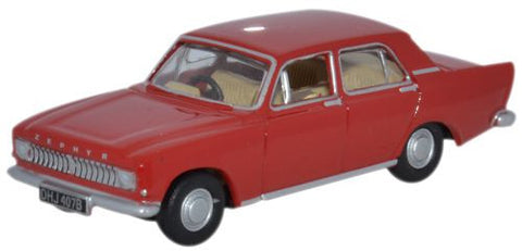 Oxford Diecast Ford Zephyr Monaco Red - 1:76 Scale