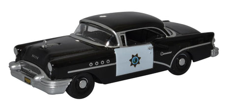Oxford Diecast Buick Century 1955 California Highway Patrol